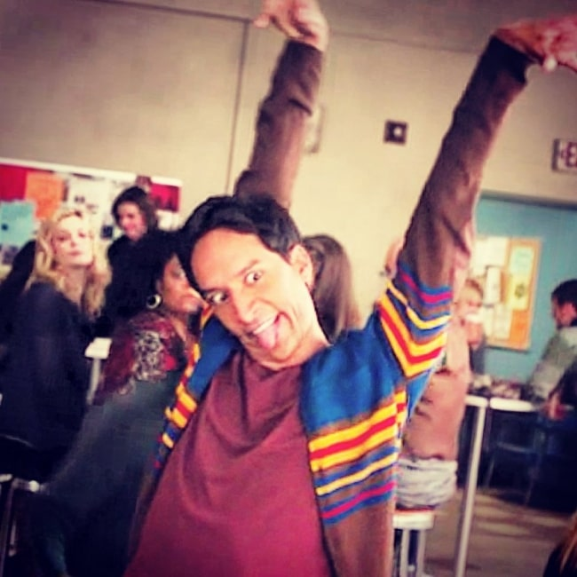 Danny Pudi in October 2015 wondering if he was a vampire
