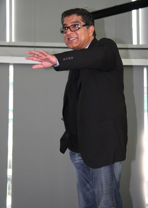 Deepak Chopra as seen in a picture that was taken on November 3, 2006 during a seminar