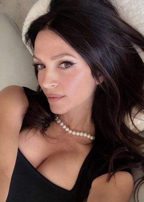 Denise Milani as seen in a selfie taken in November 2019