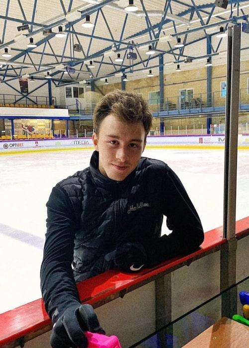 Dmitri Aliev as seen in an Instagram Post in July 2019