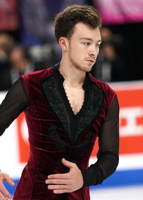 Dmitri Aliev as seen in an Instagram Post in October 2019