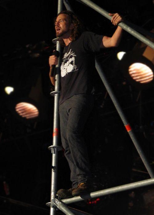 Eddie Vedder as seen in 2006