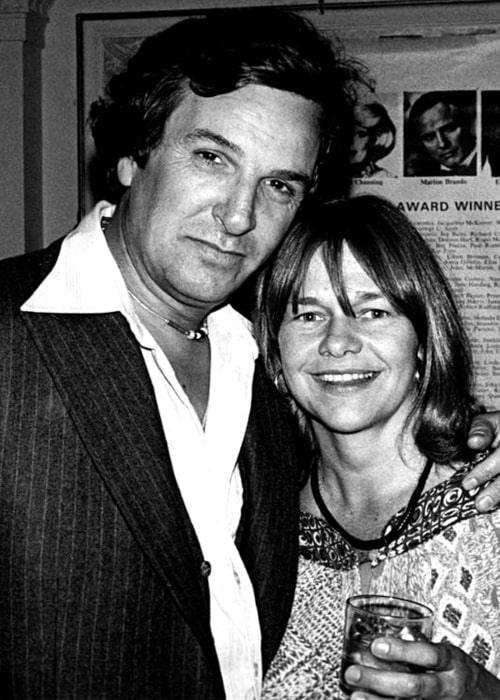 Estelle Parsons as seen in a candid picture taken with veteran actor Danny Aiello in the past