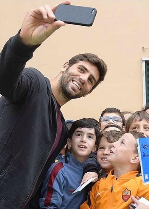 Federico Fazio in an Instagram selfie from April 2017