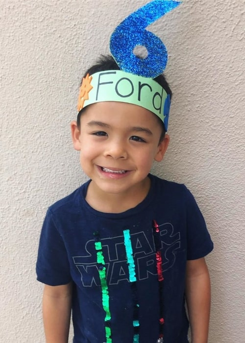 Ford Walker as seen in a picture taken while he celebrated his 6th birthday in September 2019