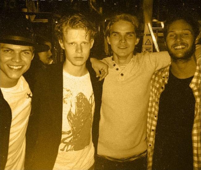 From Left to Right - Alex Høgh Andersen, David Lindström, Marco Ilsø, and Jordan Patrick Smith