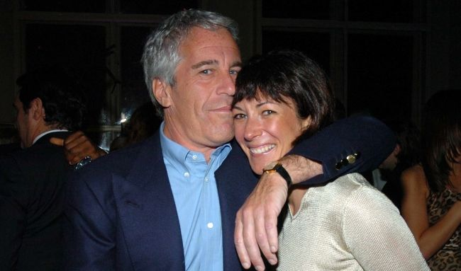 Ghislaine Maxwell as seen with Jeffrey Epstein