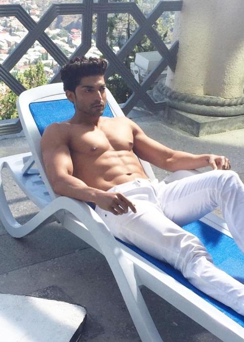 Gurmeet Choudhary as seen in an Instagram Post in July 2020