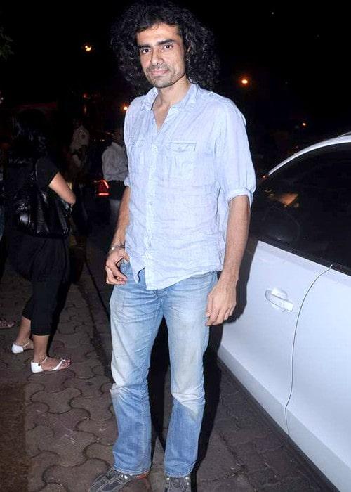 Imtiaz Ali at Deepika's Cocktail success bash in July 2012