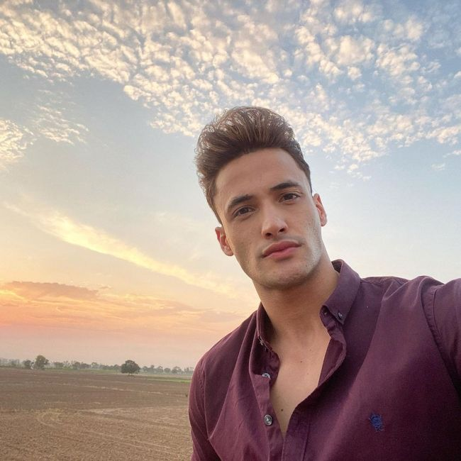 Indian actor and model Asim Riaz