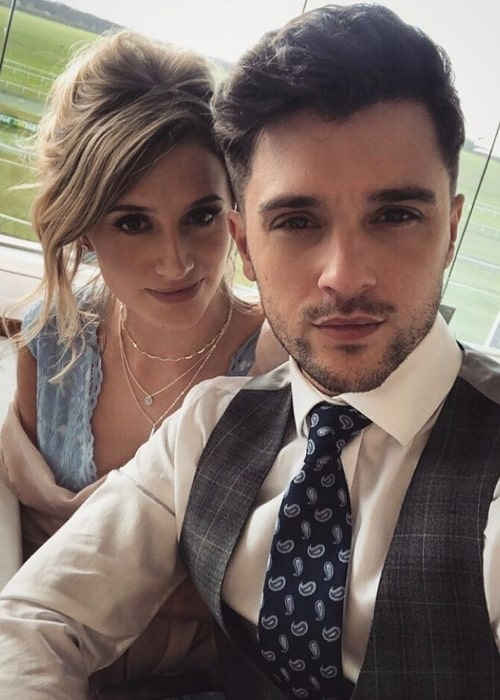 JJ Hamblett as seen in a selfie taken in Tintagel, Cornwall with his girlfriend Shawni Jade on the day of her birthday in March 2020