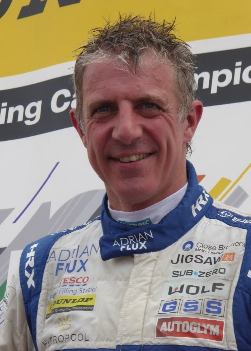 Jason Plato pictured at the Knockhill round of the 2017 British Touring Car Championship