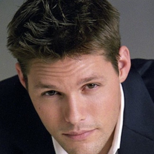 Justin Bruening as seen in a picture taken during a photoshoot in the past
