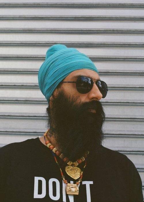 Kanwer Singh as seen in an Instagram Post in December 2019