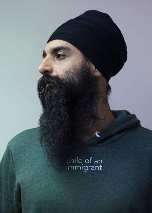 Kanwer Singh as seen in an Instagram Post in March 2020