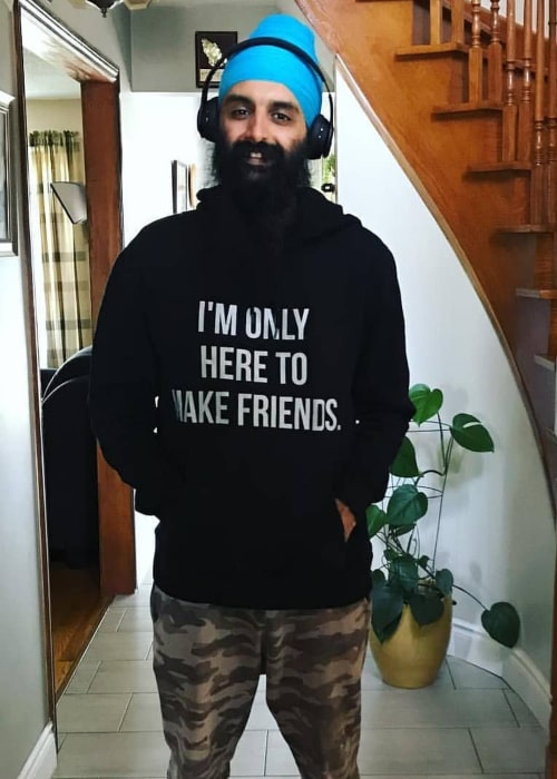 Kanwer Singh as seen in an Instagram Post in November 2019