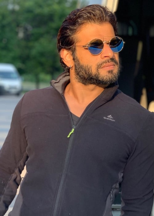 Karan Patel as seen while posing for the camera in August 2019