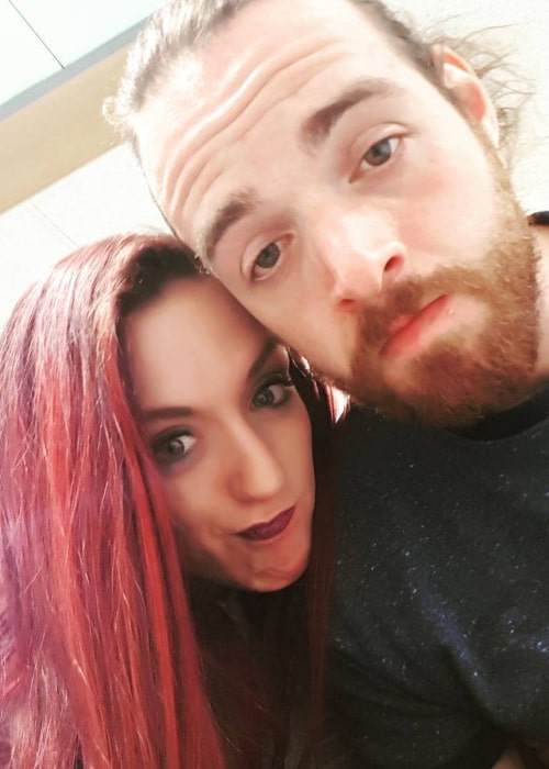 Kay Lee Ray and Stevie Xavier, as seen in August 2017