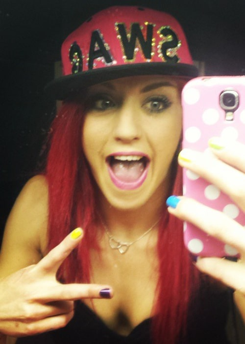 Kay Lee Ray in an Instagram selfie from February 2015