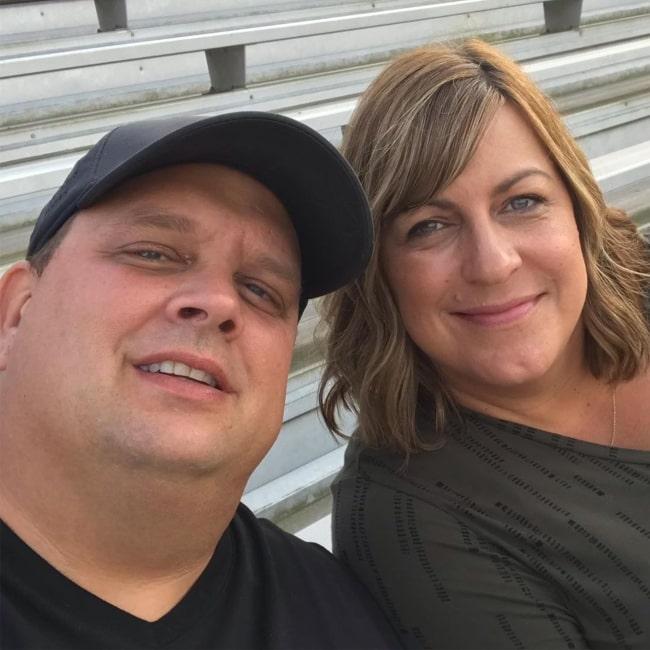 Ken and Candi Reese as seen in a selfie taken in September 2019
