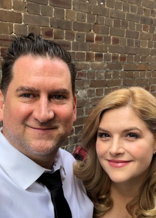 Lucy Durack and Christopher Horsey, as seen in February 2020