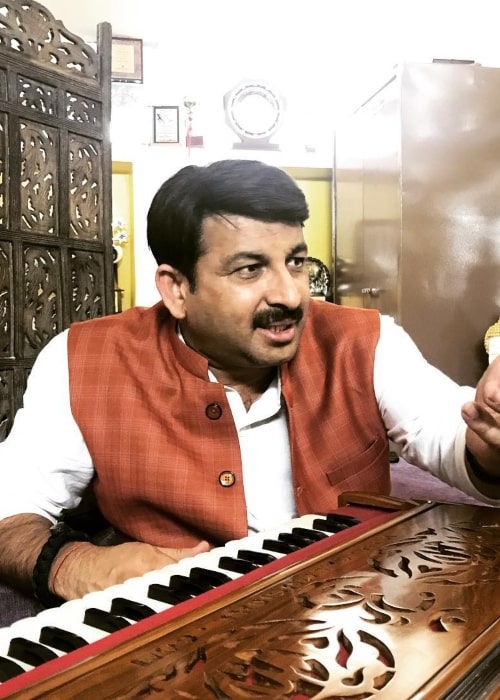 Manoj Tiwari as seen in an Instagram Post in October 2018