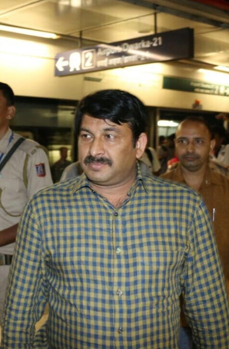 Manoj Tiwari as seen in an Instagram Post in September 2017