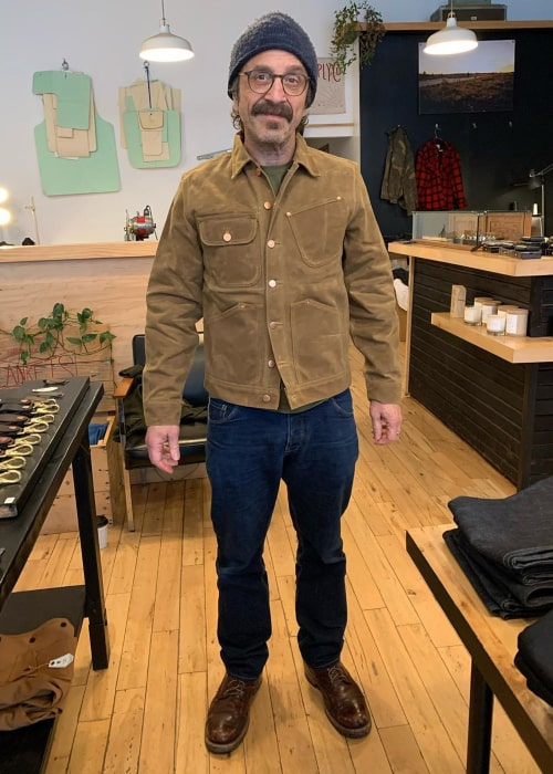 Marc Maron as seen in an Instagram Post in January 2020
