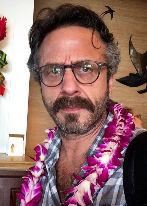 Marc Maron in an Instagram selfie from July 2015