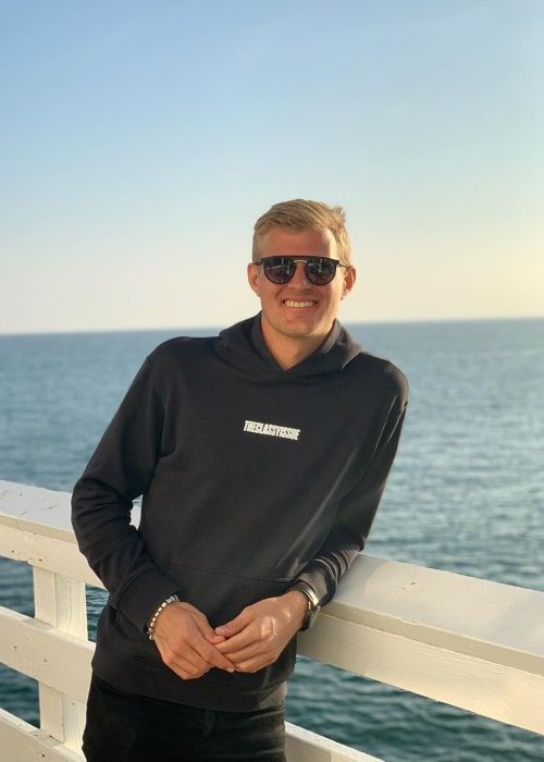 Marcus Ericsson as seen in an Instagram Post in November 2019