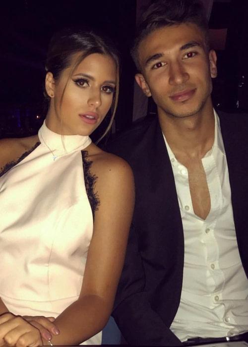 Marko Grujić and Mia Zeremski, as seen in December 2017