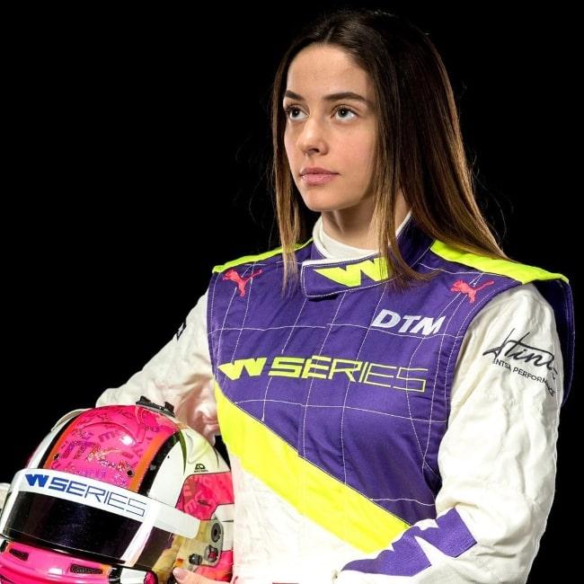 Marta García López in April 2020