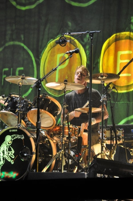 Matt Cameron as seen while performing with Pearl Jam in 2009