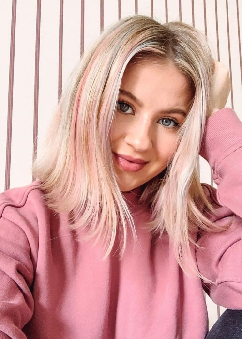 Milana Burykin as seen in a selfie taken in October 2019