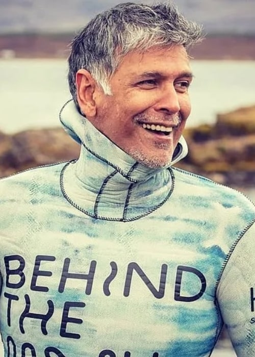 Milind Soman as seen in an Instagram Post in March 2020