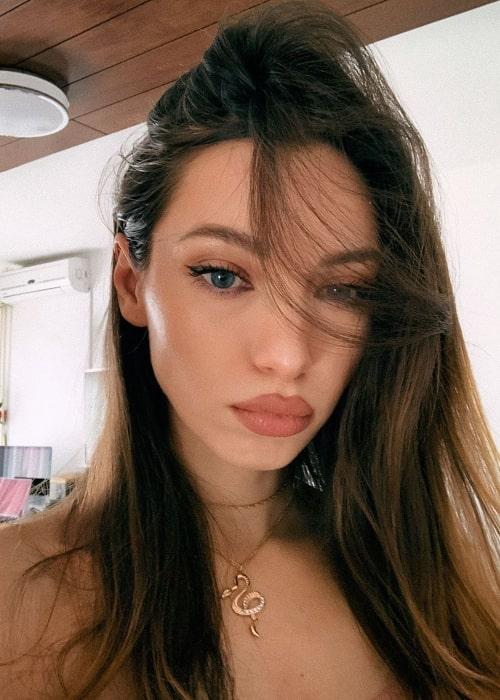 Miss Bo (Bozana Abrlic) as seen in a selfie taken in April 2020
