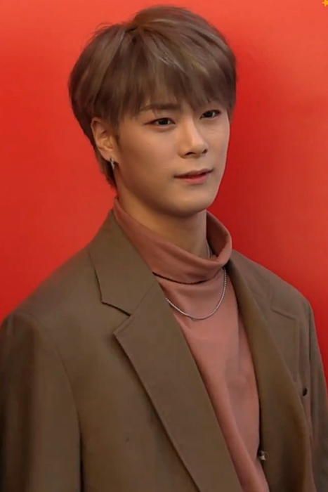 Moonbin seen at the 2019 Hera Seoul Fashion Week in 2018