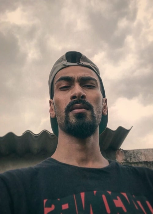 Muhfaad as seen in a selfie taken in Hari Nagar, Rajouri Garden in June 2020