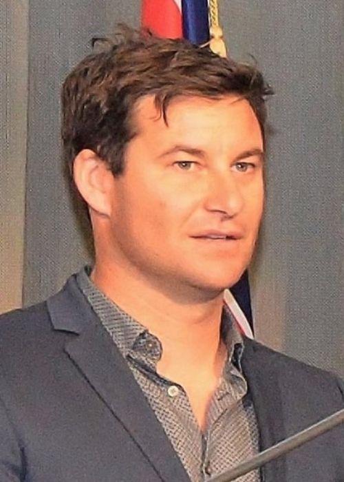 New Zealand broadcaster Clarke Gayford