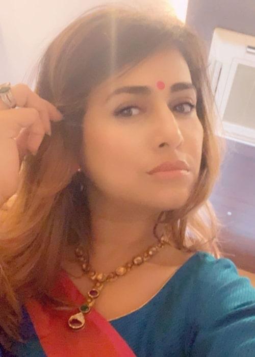 Pakkhi Hegde as seen in a selfie that was taken in July 2020