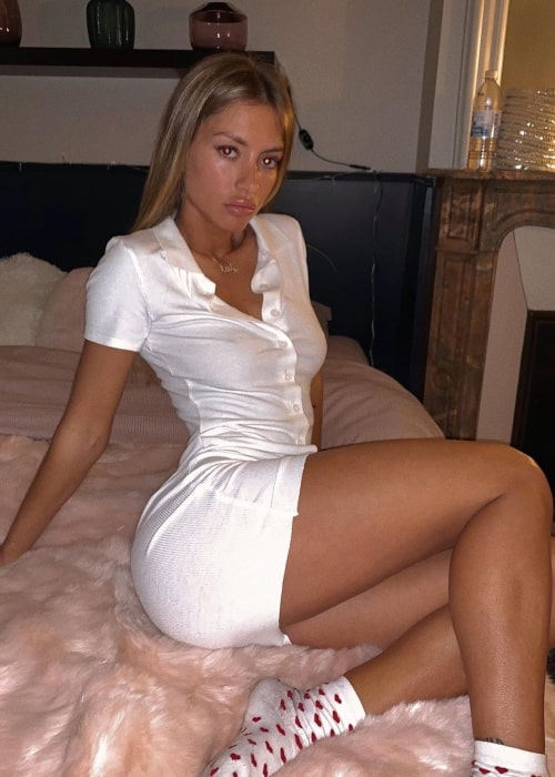 Pauline Tantot as seen in a picture taken in Paris, France in January 2020