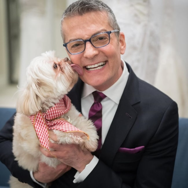 Randy Fenoli as seen in a picture taken with his dog Chewy in June 2020
