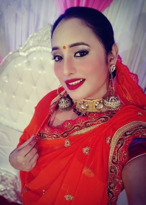 Rani Chatterjee as seen in a selfie that was taken in July 2020