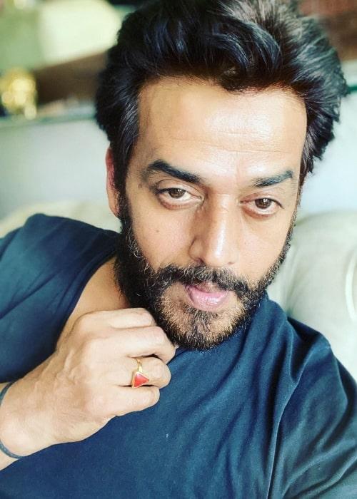 Ravi Kishan as seen in a selfie that was taken in May 2020