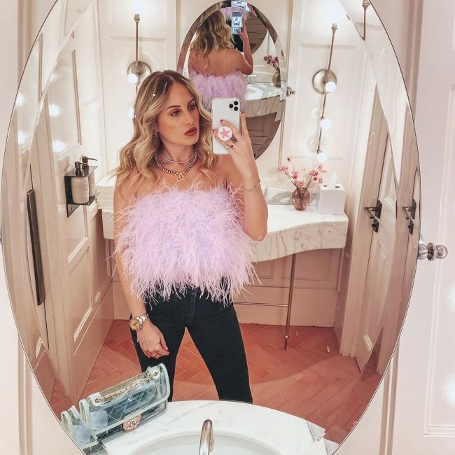Rosie Fortescue as seen in February 2020