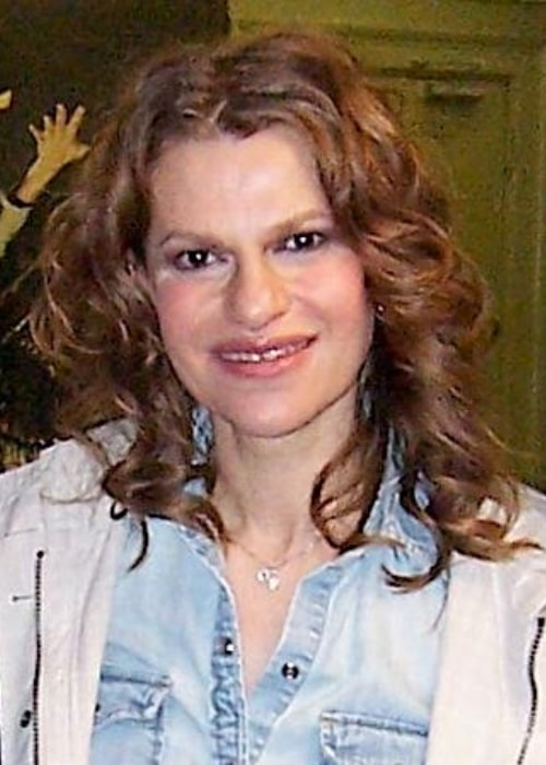 Sandra Bernhard as seen in a picture that was taken on April 6, 2006