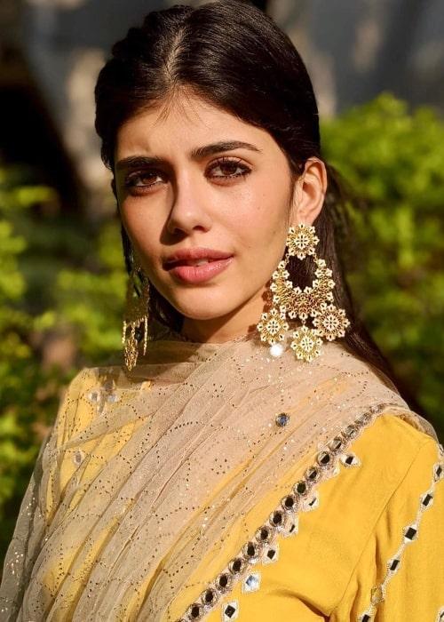 Sanjana Sanghi as seen in November 2019