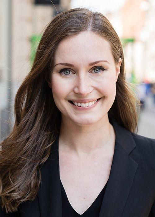 Sanna Marin as seen in 2019