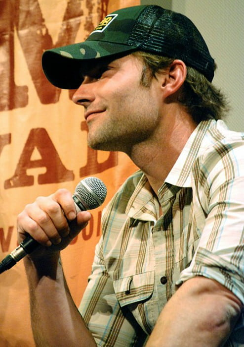 Seann William Scott at the Austin Film Festival promoting Role Models in October 2008