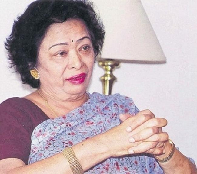 Shakuntala Devi as seen in a picture